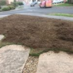Heavily Scarified lawn, Banbury