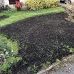 Chipping Norton Lawn Scarification dressed and seeded